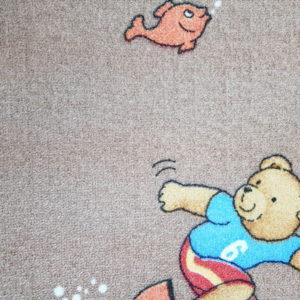שטיח מקיר לקיר לחדרי ילדים ולגני ילדים דובי