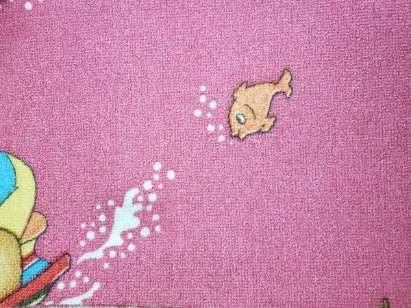 שטיח מקיר לקיר לחדרי ילדים ולגני ילדים דגים