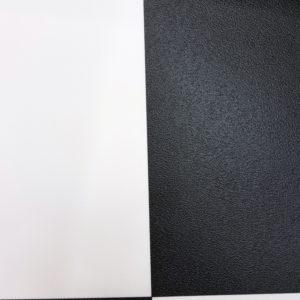 פי וי סי וינטאז' דמוי ריצוף ריבועים שחור לבן