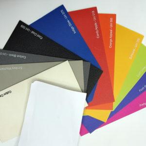 פי וי סי תעשייתי מגוון צבעים A